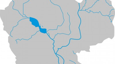 cambodia water map
